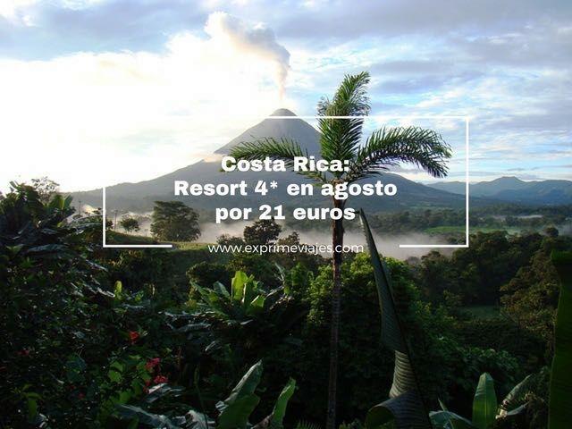Costa Rica 4* agosto por 21 euros