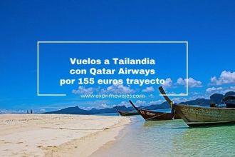 tailandia vuelos qatar 155 euros trayecto