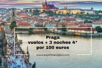 PRAGA VUELOS 3 NOCHES 4* 100 EUROS