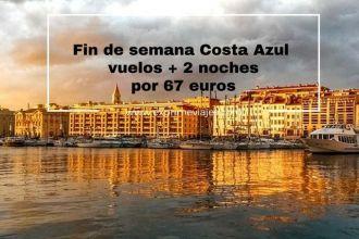 costa azul fin de semana 67 euros
