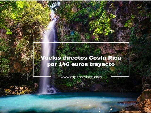 VUELOS DIRECTOS A COSTA RICA POR 146EUROS TRAYECTO
