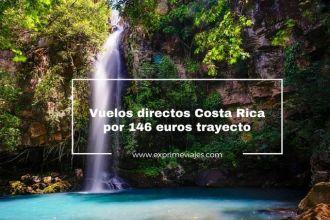 costa rica vuelos directos 146 euros trayecto