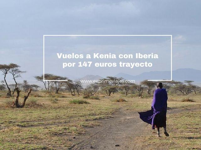 VUELOS A KENIA POR 147EUROS TRAYECTO