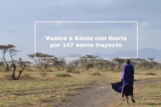 kenia vuelos iberia 147 euros trayecto