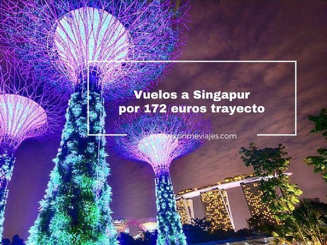 singapur vuelos 172 euros trayecto