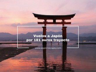 vuelos a japón por 181 euros trayecto