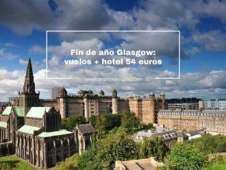 fin de año glasgow vuelos + hotel 54 euros