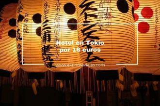 hotel en tokio por 16 euros