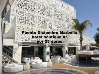 marbella puente diciembre hotel 4* boutique 25 euros