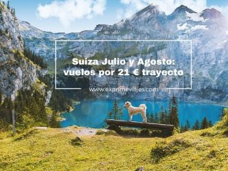 suiza julio agosto vuelos 21 euros trayecto