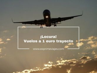 vuelos 1 euro trayecto volotea