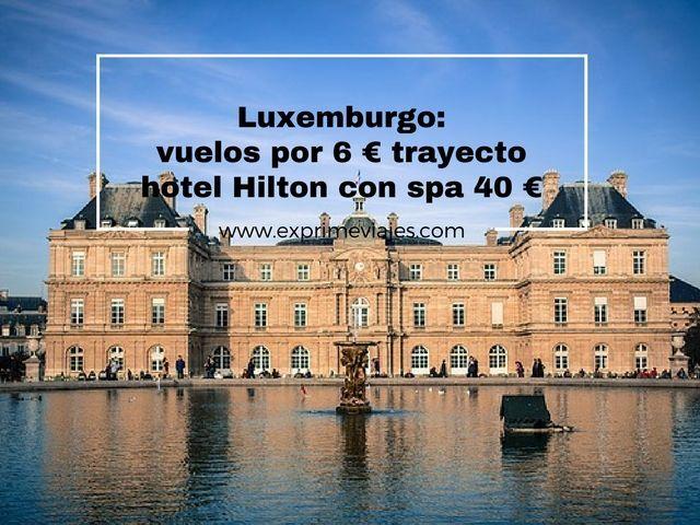 luxemburgo vuelos 6 euros