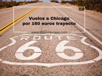 vuelos a chicago por 160 euros trayecto