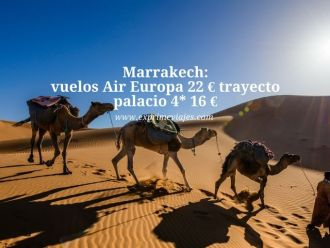 marrakech vuelos air europa 22 euros trayecto