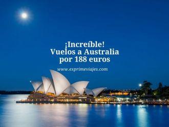 australia vuelos 188 euros