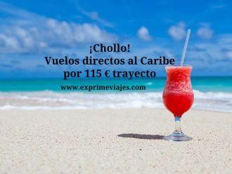 caribe vuelos directos 115 euros trayecto