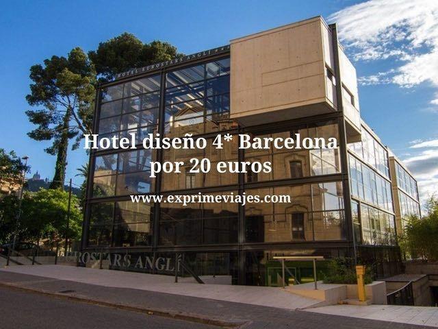 Hotel dise o 4 barcelona por 20 euros for Hotel barcelona diseno