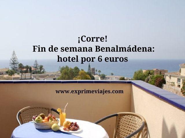 benalmádena tarifa error hotel 6 euros