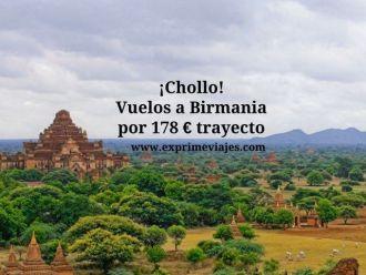 birmania vuelos 178 euros trayecto