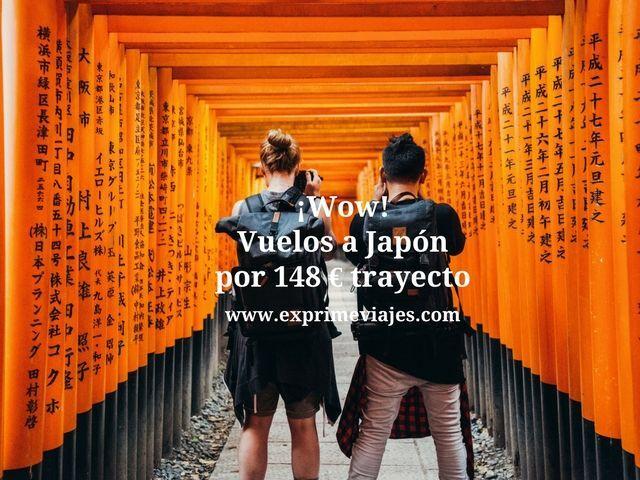 japon vuelos 148 euros trayecto