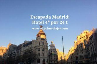 madrid hotel 4* 24 euros