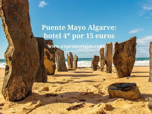 PUENTE MAYO ALGARVE: HOTEL 4* POR 15EUROS