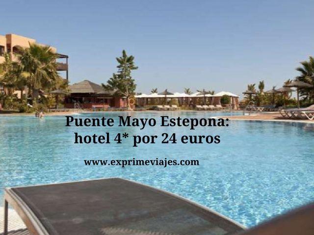 Puente Mayo Estepona hotel 4* por 24 euros