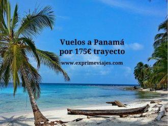Vuelos a Panamá por 175 euros trayecto