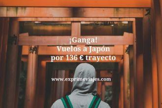 japón ganga vuelos 136 euros trayecto