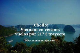 chollo vuelos vietnam verano por 217 euros trayecto
