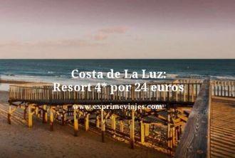 Costa de La Luz resort 4 estrellas por 24 euros