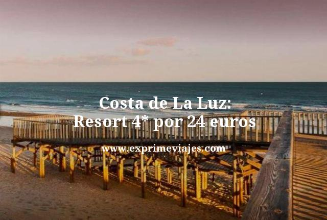 COSTA DE LA LUZ: RESORT 4* POR 24 EUROS