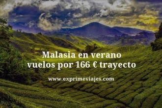 Malasia en verano vuelos por 166 euros trayecto