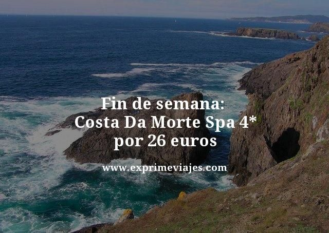 Fin de semana Costa Da Morte Spa 4 estrellas por 26 euros