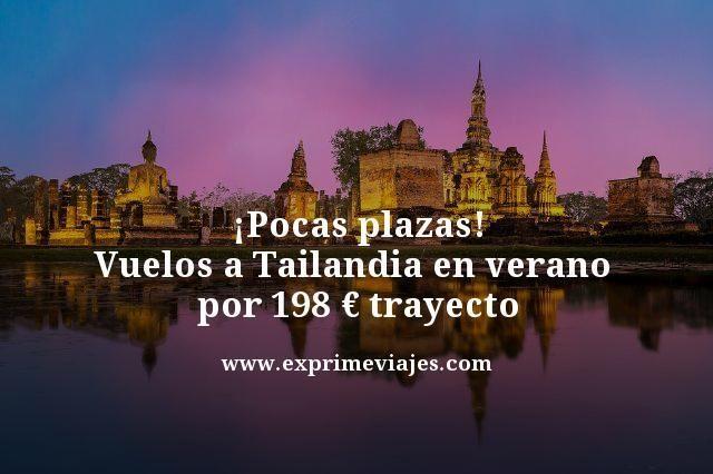 Pocas-plazas-Vuelos-a-Tailandia-en-verano--por-198-euros-trayecto