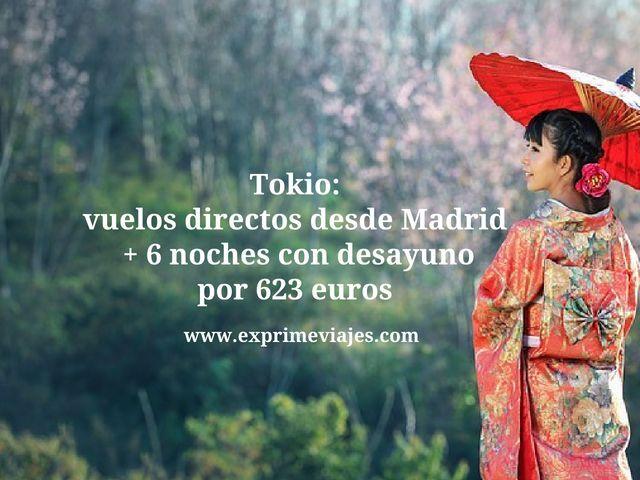 tokio vuelos directos 6 noches 623 euros