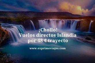 chollo vuelos directos islandia por 48 euros trayecto