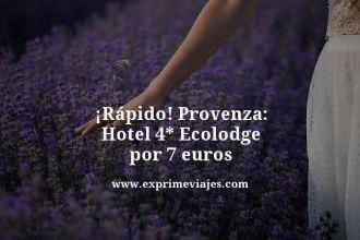 tarifa-error-Provenza-Hotel-4-estrellas-Ecolodge-por-7-euros