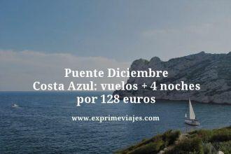 puente diciembre costa azul vuelos mas 4 noches por 128 euros