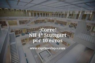 corre nh 4 estrellas Stuttgart por 10 euros