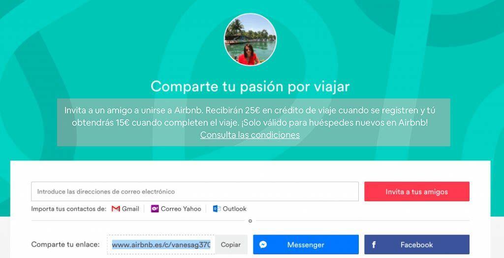 invitación airbnb 30 euros gratis exprimeviajes