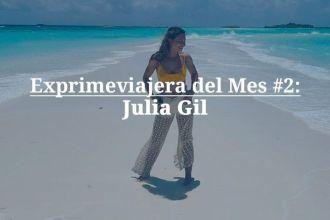 Julia Gil exprimeviajera del mes