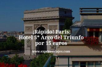 error-de-precio-Paris-Hotel-5-estrellas-Arco-del-Triunfo-por-15-euros