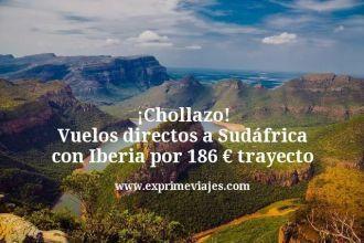 Chollazo Vuelos directos a Sudáfrica con Iberia por 186 euros trayecto