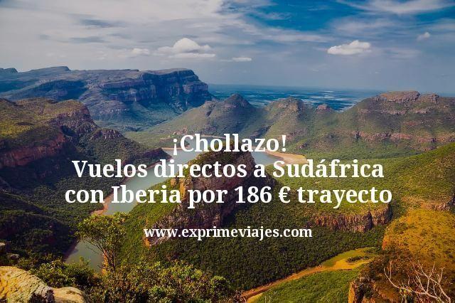 ¡Chollazo! Vuelos directos a Sudáfrica con Iberia por 186€ trayecto