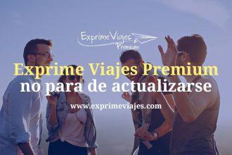 Nueva actualización de Exprime Viajes Premium