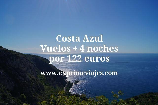 Costa Azul: Vuelos + 4 noches por 122euros