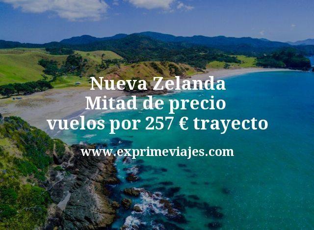 Nueva Zelanda a mitad de precio: Vuelos por 257euros trayecto