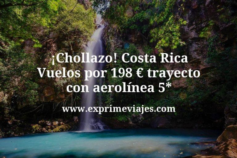 ¡Chollazo! Vuelos a Costa Rica por 198€ trayecto con aerolínea 5*