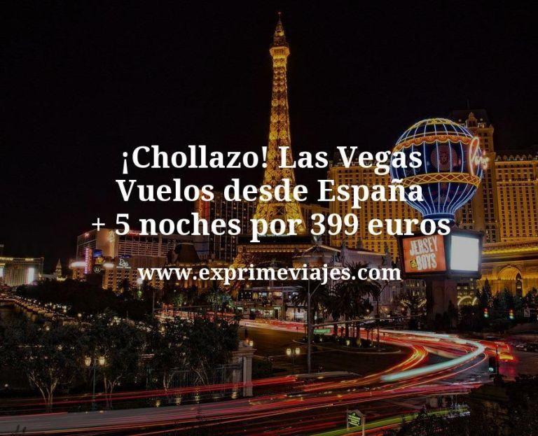 ¡Chollazo! Las Vegas: Vuelos desde España + 5 noches por 399euros